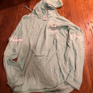 PINK Miami hooded sweatshirt